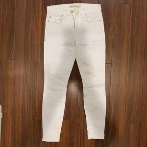 🌲 GAP 1969 white jeans